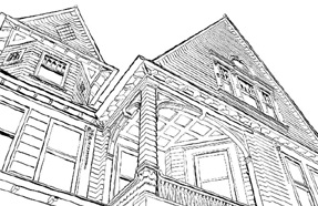 Mansion Coloring Book