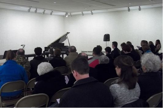 Piano and Crowd