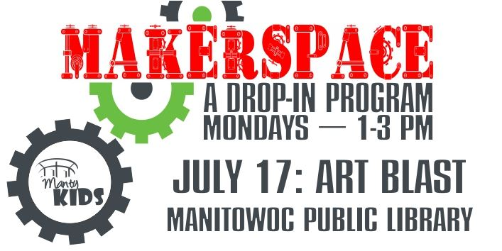 Makerspace Art Blast Billboard
