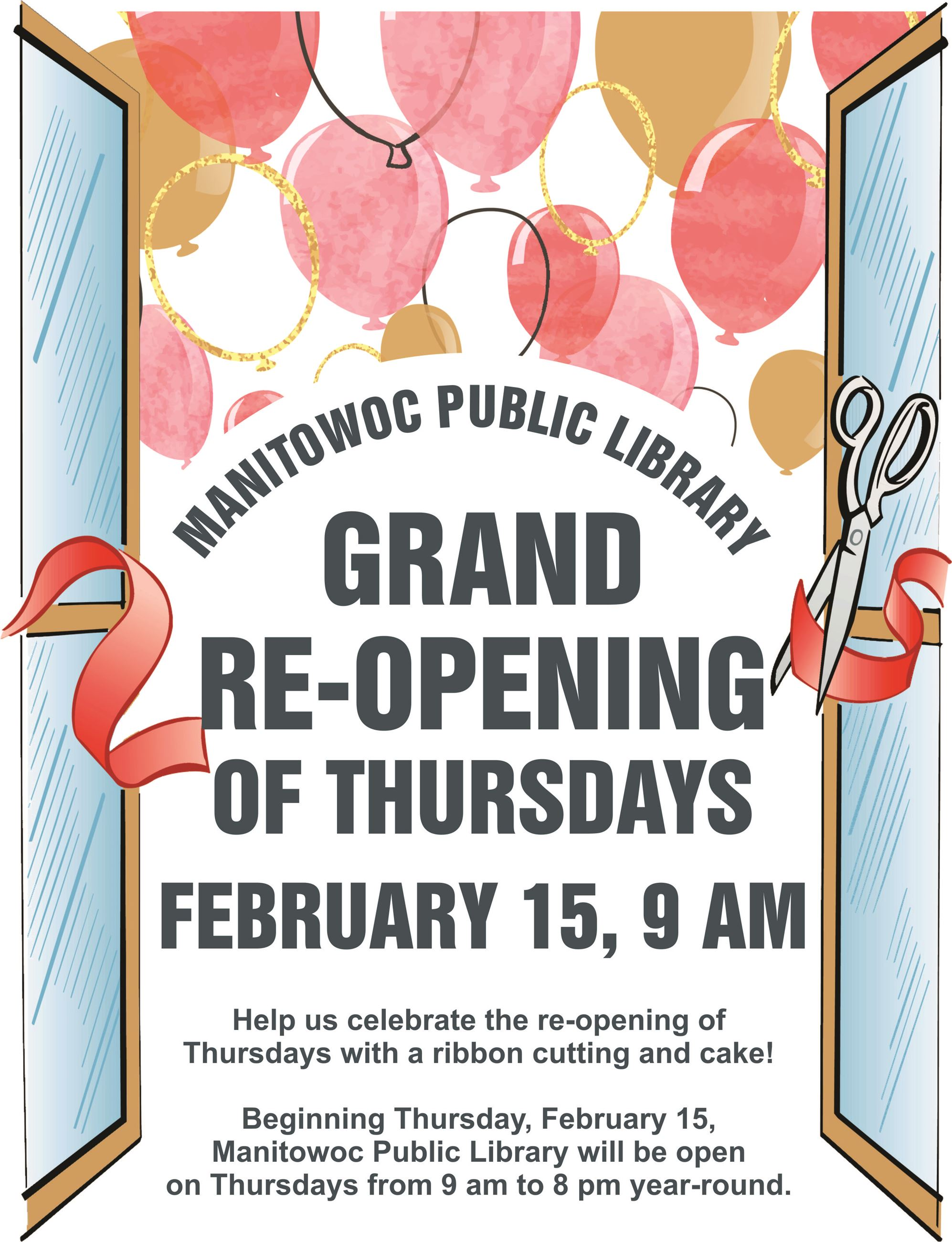 Grand Reopening Poster