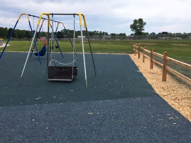 Miracles Park Wheelchair-Accessible Swing