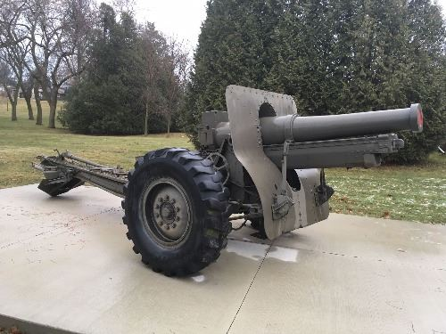 Howitzer at Red Arrow Park