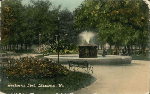 Washington Park postcard - unknown date