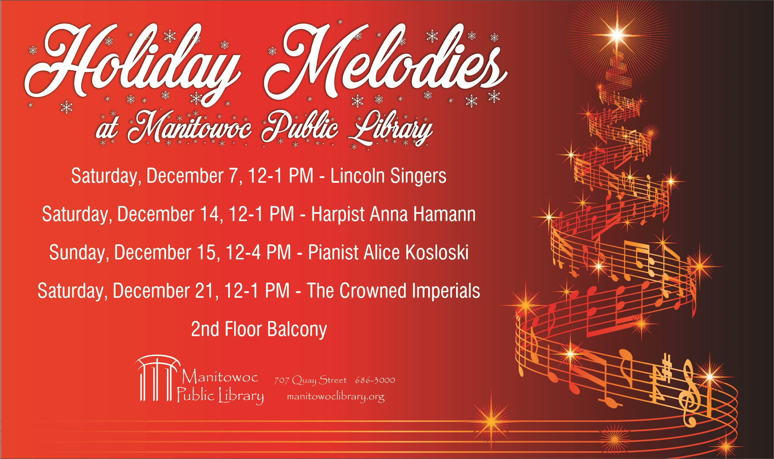 Holiday Melodies Poster
