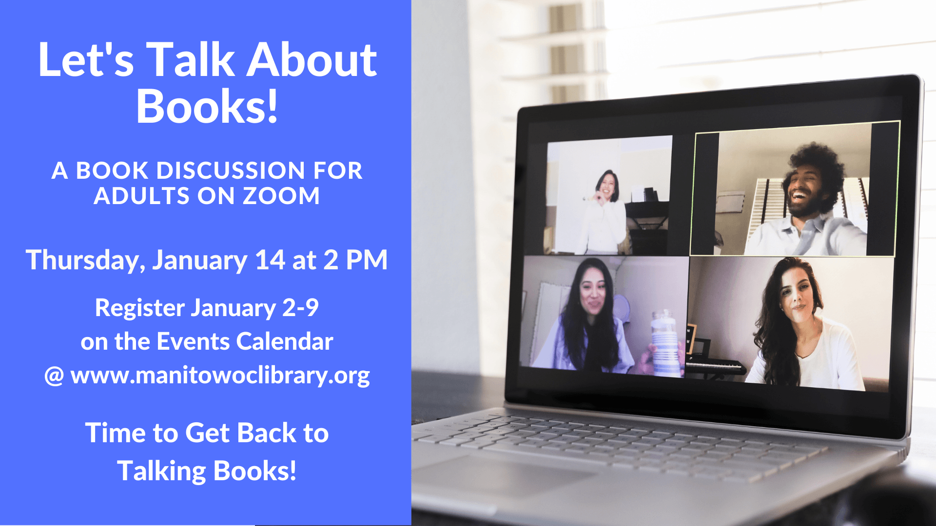 January Zoom Book Discussion