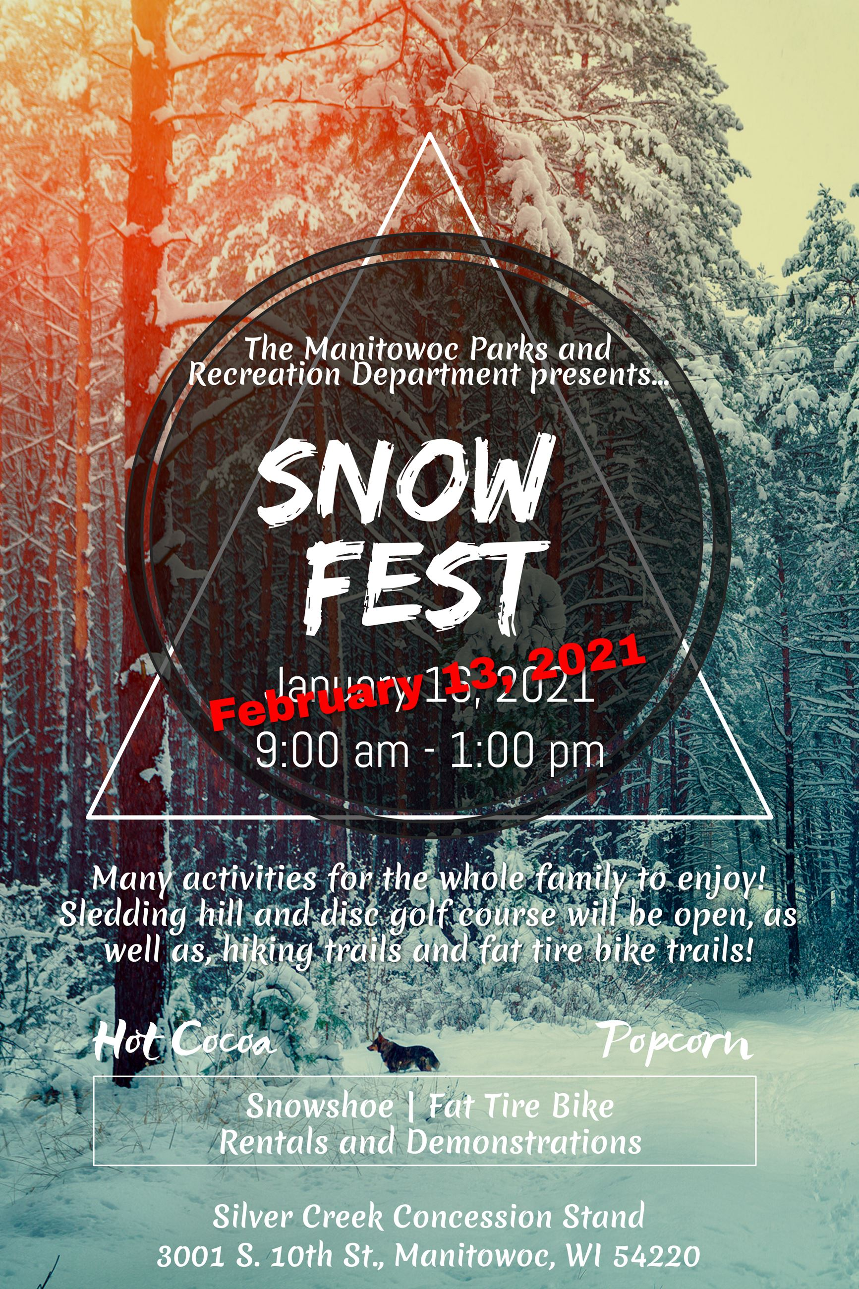 Snow Fest Updated