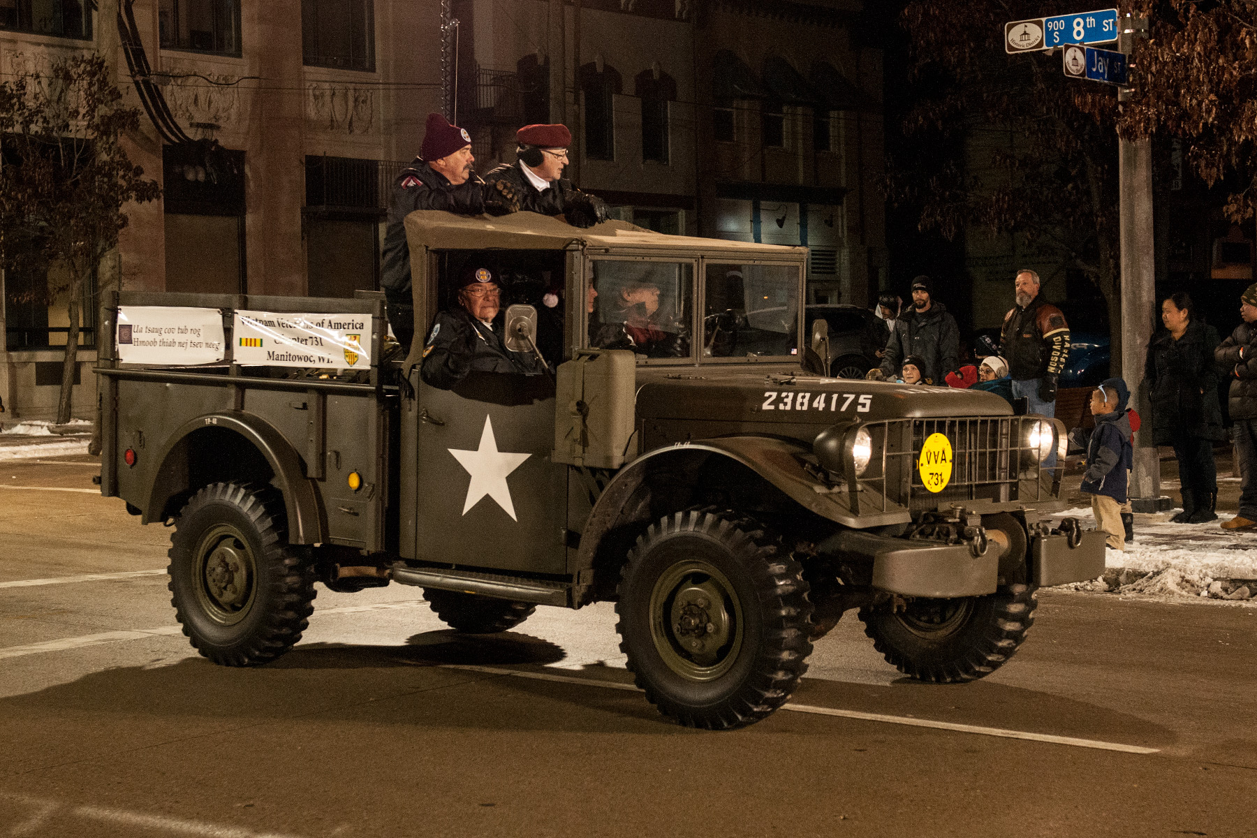 Vintage M-37 Army Truck