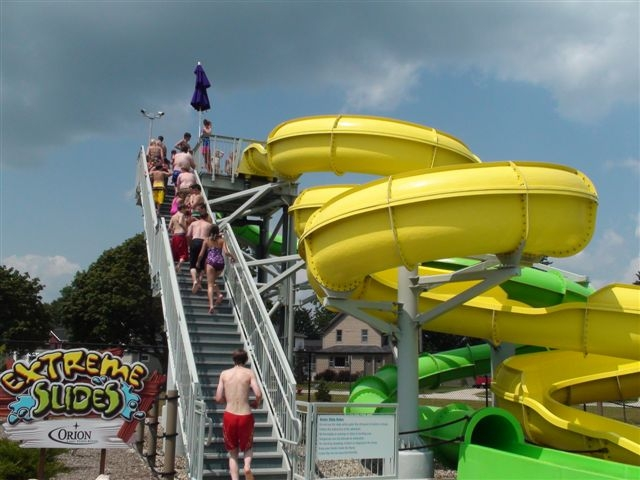 Manitowoc WI FAC Slide Tower