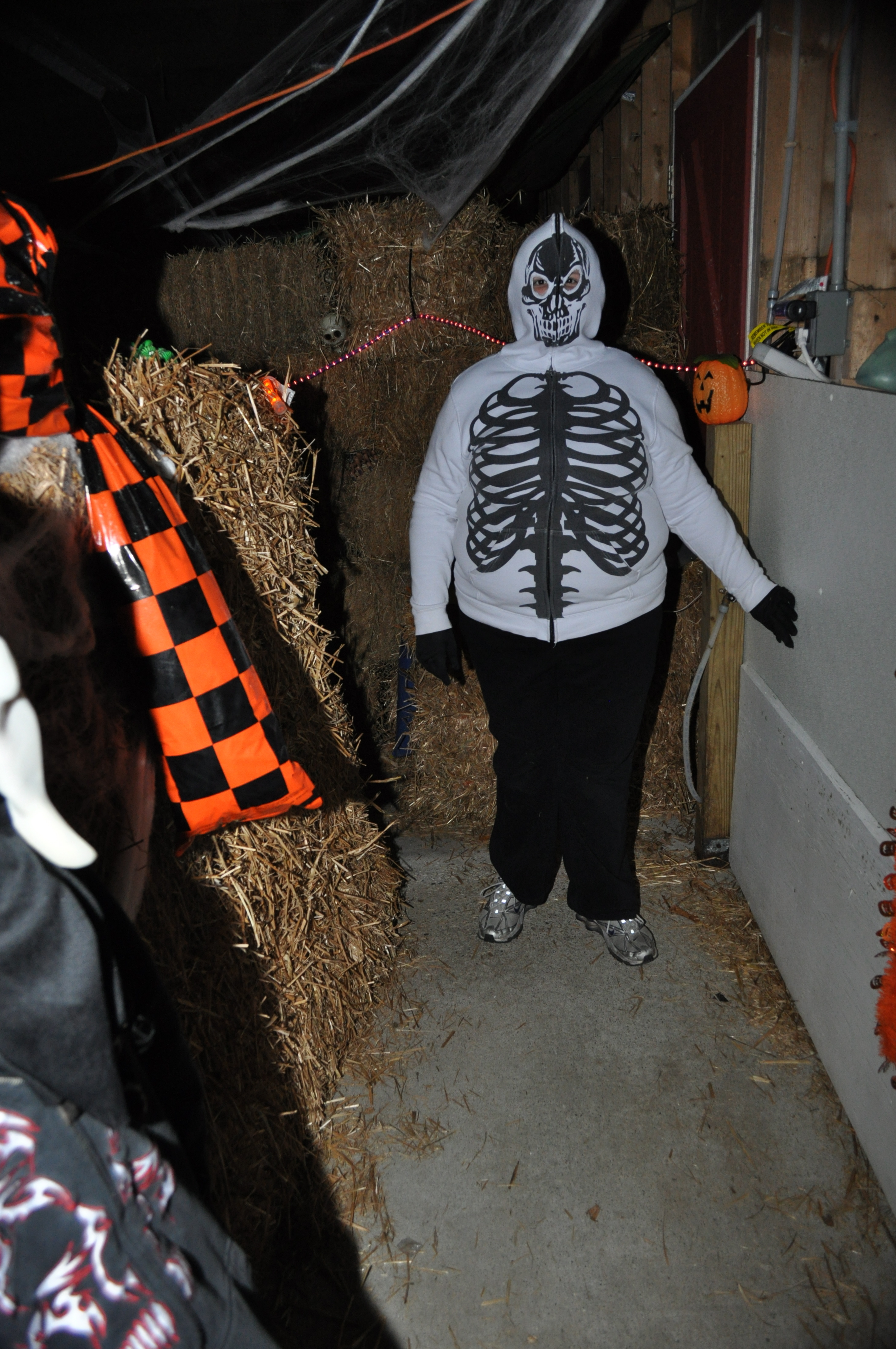 Halloween Haunted Barn Haunter
